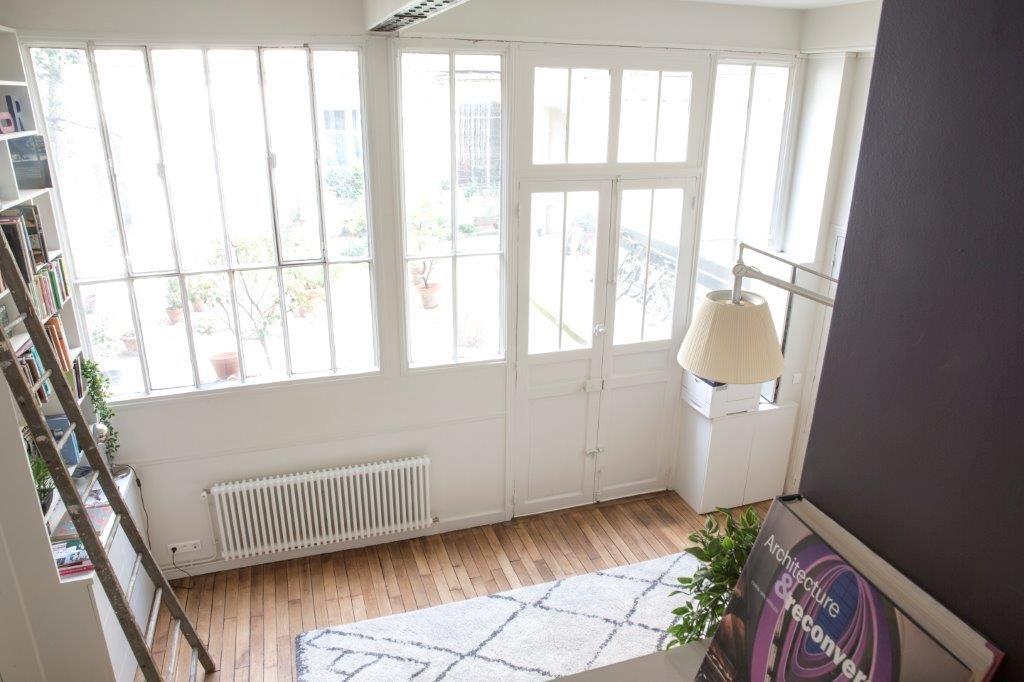 Avant / Après : Quelle solution pour habiller les fenêtres d'atelier de Cendrine Dominguez ?