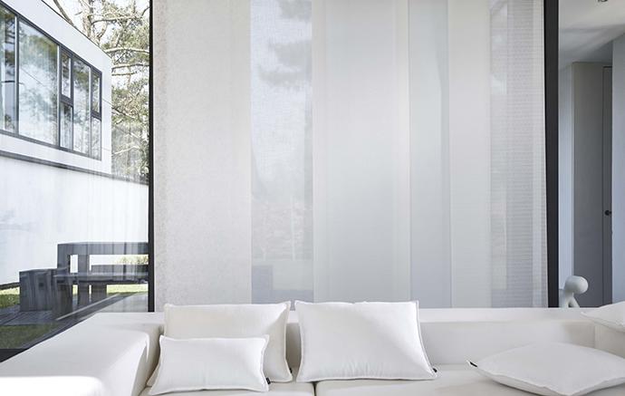Exceptionnel Panneau Japonais Blanc 125,61u20ac L140xH220 Cm