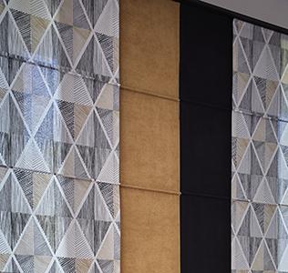Panneau japonais tissu