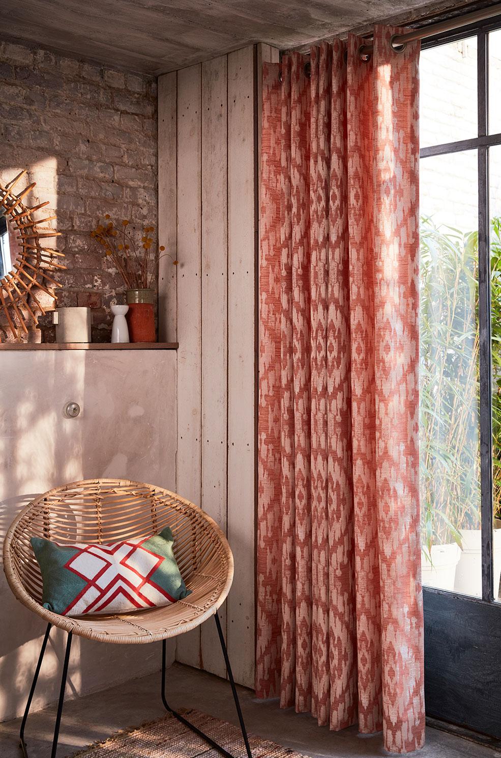 rideaux rideau sur mesure pr t poser. Black Bedroom Furniture Sets. Home Design Ideas