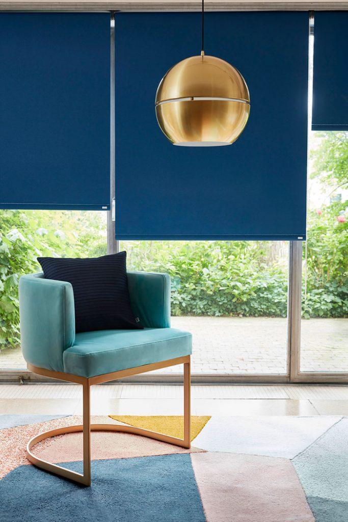 Store enrouleur Color Bloc bleu