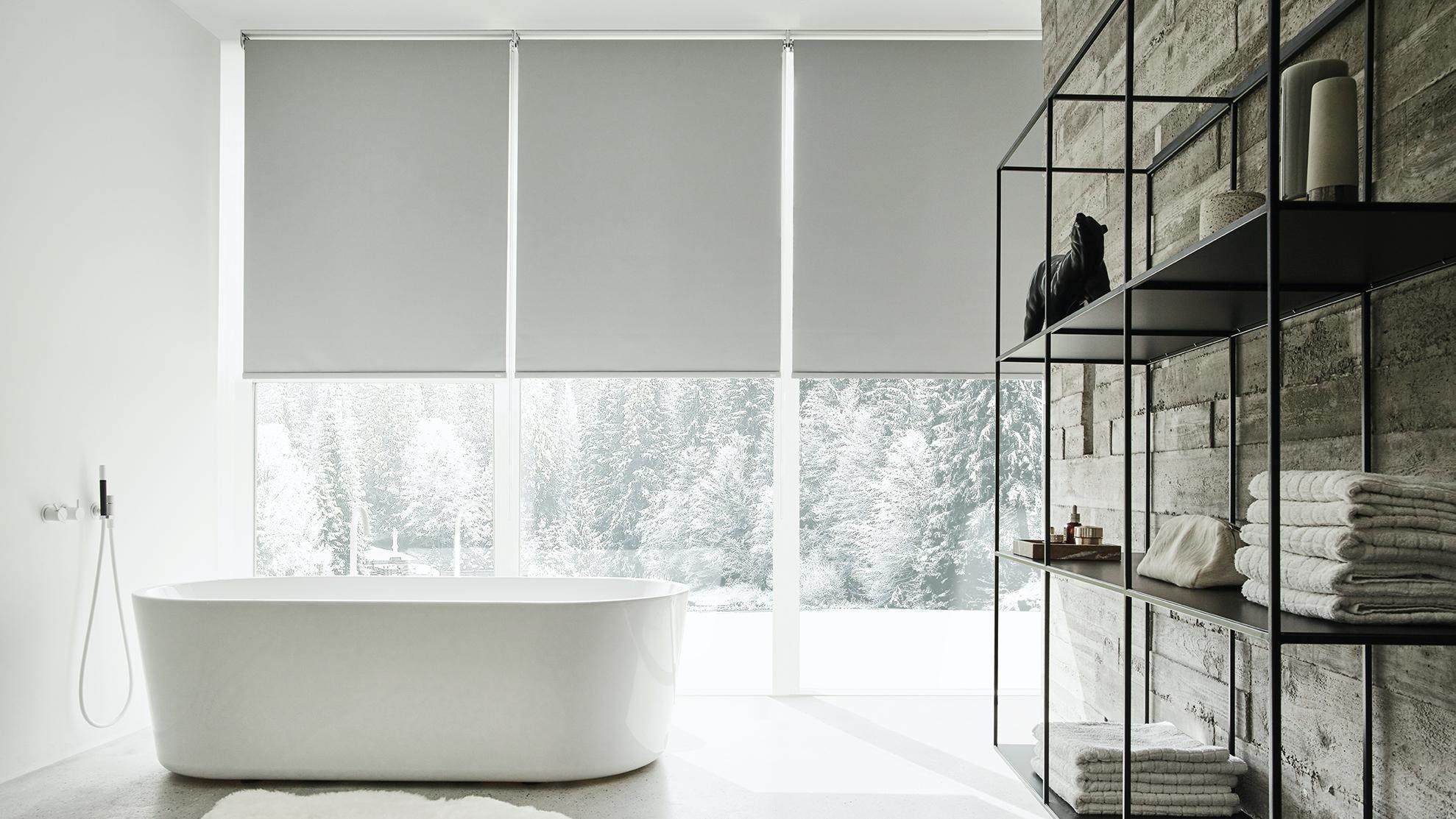 Rideau Sur Baie Vitrée stores intérieurs : store intérieur sur mesure pour fenêtre
