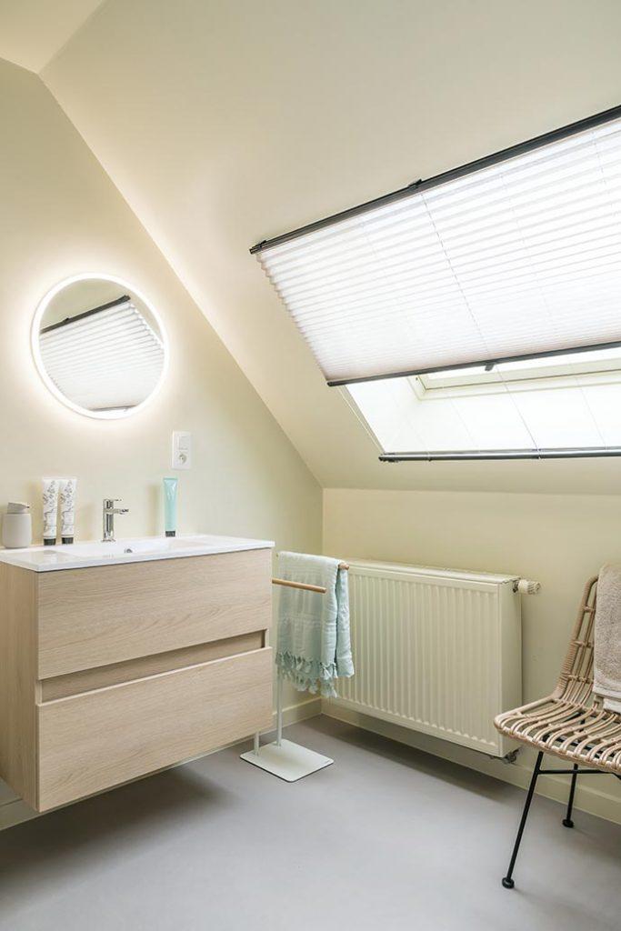Store plisse salle de bain heytens